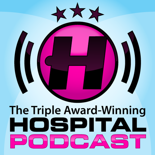 An Image of the Hospital Records Podcast logo
