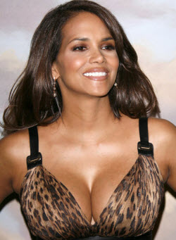 An image of Halle Berry's iconic breasts