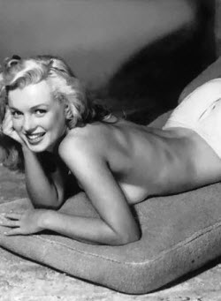 An image of Marilyn Monroe famous boobs
