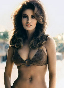 An Image of Raquel Welch and her spectacular boobs