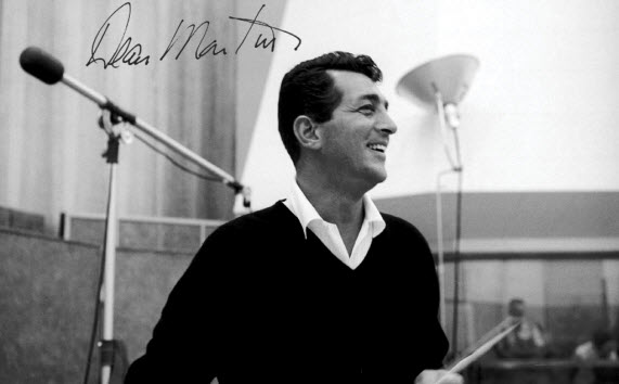 An image of the late and great crooner Dean Martin