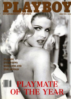 An image of Anna Nicole Smiths Playboy cover