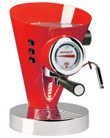 An image of Bugatti Diva 15-Bar Pump Espresso Machine, Chrome