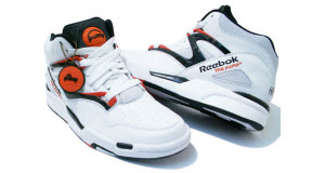An image of the classic Reebok Pump