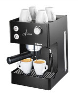 An image of the black Saeco 00347 Aroma Espresso Machine