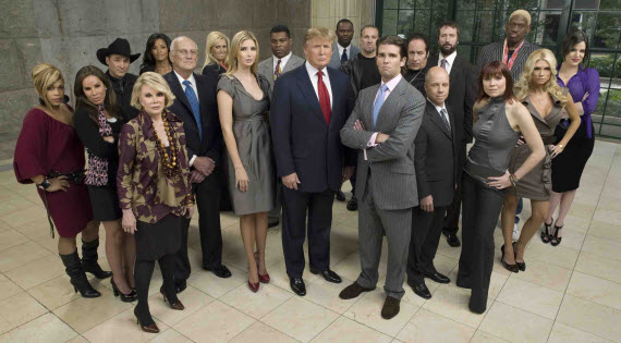 An image of the american cast from the show The Celebrity Apprentice