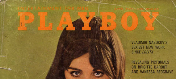 An image of the front cover of an original playboy cover
