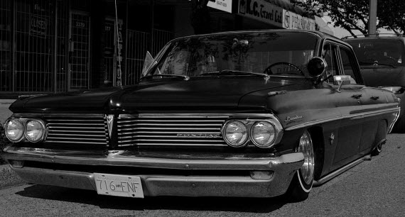 An image of a lowrider in the streets of Compton