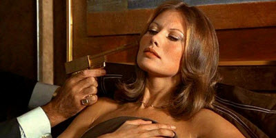 An image of the bond girl character Andrea Anders from The Man with the Golden Gun